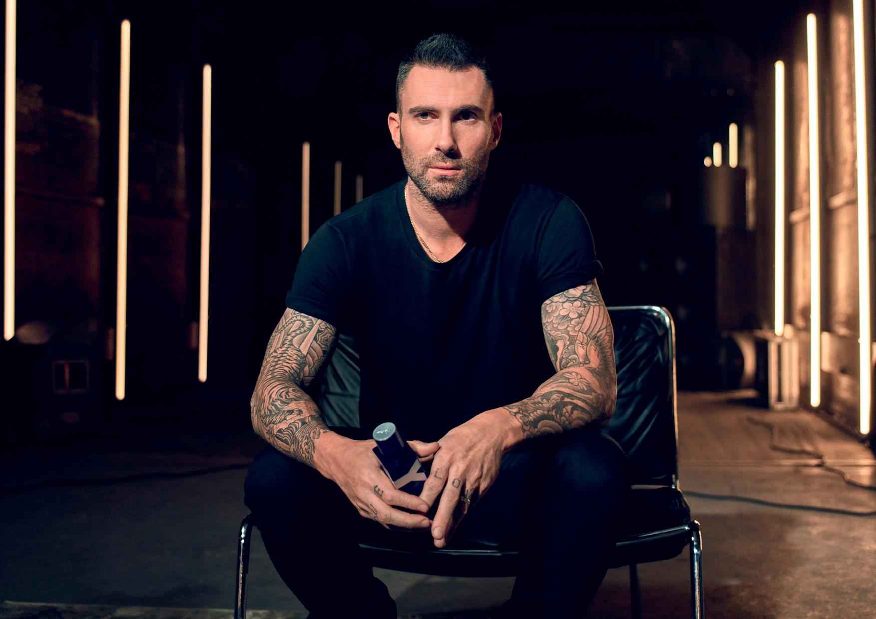 Adam Levine for Yves Saint Laurent