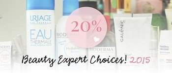 Beauty experts choices