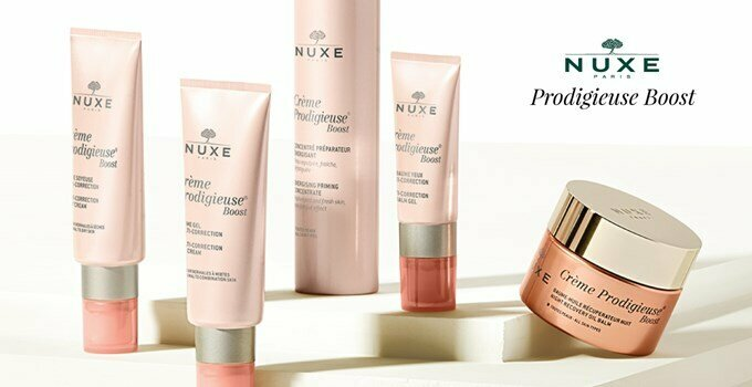 crème prodigieuse boost | the first anti-ageing nuxe range!