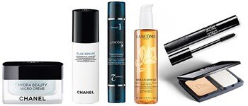 News! chanel, dior & lancôme