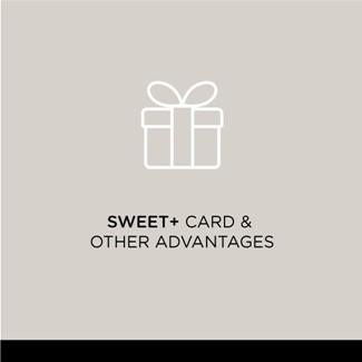 Sweet+ card & other advantages