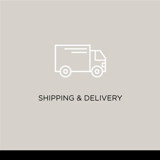 Shipping & delivery information