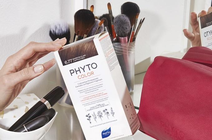 Phyto color 6.77 marron clair capuccino