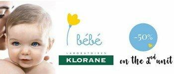 New line klorane baby
