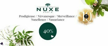 Nuxe special - antiaging cares