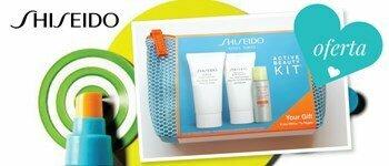 Oferta kit corpo shiseido