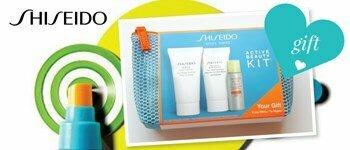 Offer shiseido body kit