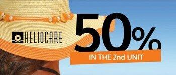Heliocare - sunscreens discounts