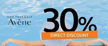 Sunscreens avène - immediate discounts