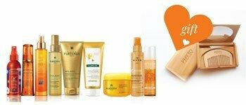 Hair sun protection!