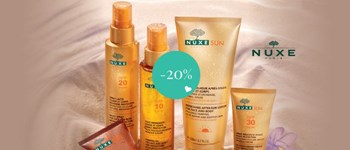 Nuxe sunscreens with discounts