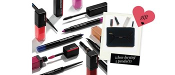 Shiseido makeup - special offer