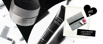 Shiseido men - exclusive offer