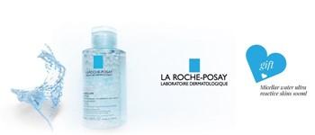 Exclusive la roche posay offer: micellar water 100ml