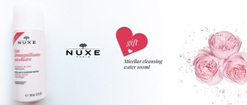 Exclusive nuxe offer:  micellar water 100ml