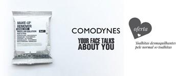 Oferta exclusiva comodynes: toalhitas desmaquilhantes