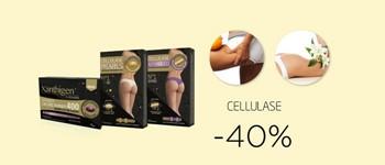 Cellulase -> -40% desconto