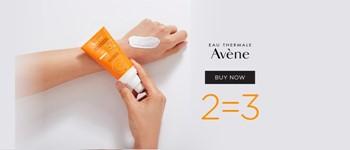Avène sunscreens 2=3