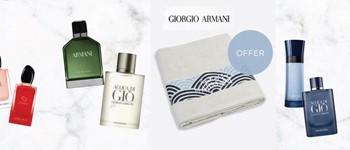 Offer - giorgio armani beach towel