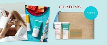 Clarins body offer