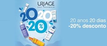 Uriage 20 anos = 20% desconto
