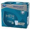 Molicare Men premium pad 2 pensos descartáveis para homem 14unidades