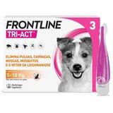 tri-act para cães dos 5 aos 10kg 3pipetas