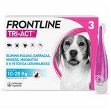 tri-act para cães dos 10 aos 20kg 3pipetas