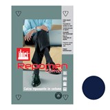 repomen elastic support socks for man 140den size l blue