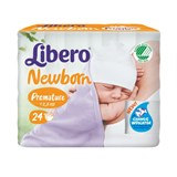 diapers baby soft (0-2,5kg) pack of 24 units