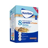 8 cereals with 4 fruits and adapted milk 600g