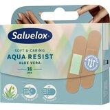 salvequick aqua resist plasters with aloe vera 16units