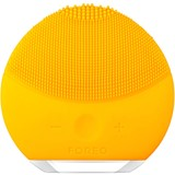 luna mini 2 compact facial cleansing brush all skin type sunflower yellow
