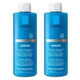 kérium shampoo-creme relipidante couro cabeludo sensível 2*400ml desc 50% na 2ª