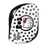escova compact hello kitty branco e preto