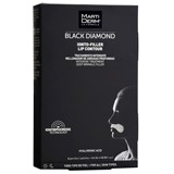black diamond ionto-lift contorno de lábios rugas profundas 4 patches