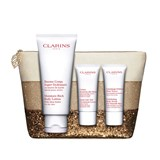 coffret balsamo corpo 200ml + creme rejuvenescedor mãos 50ml + esfoliante 30ml