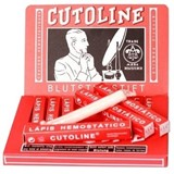 cutoline hemostatic after shave pencil for sensitive skin, antiseptic 10gx12unit