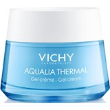 aqualia thermal gel creme hidratante peles normais a mistas 50ml