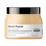 serie expert absolut repair lipidium máscara para cabelo danificado 500ml