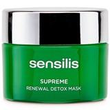 supreme renewal detox mask para pele cansada e baça 75ml