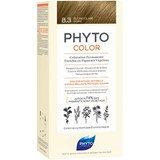 phytocolor permanent hair dye 8.3 golden light blonde