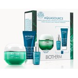 coffret aquasource gel 50ml + loção30ml + aquasource noite 20ml