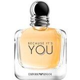 emporio armani because it's you eau de parfum mulher 100ml