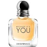 emporio armani because it's you eau de parfum mulher 50ml