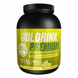 gold drink premium bebida isotónica limão 750g