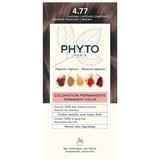 phytocolor coloração permanente 4.77 castanho marron profundo