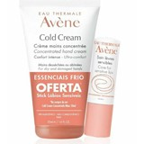 cold cream  concentrated repairing hand cream oferta stick lips