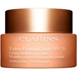 extra firming day cream anti-wrinkle and firming spf15, all skin types 50ml