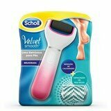 velvet smooth callus remover blue   exfoliation dry skin pink